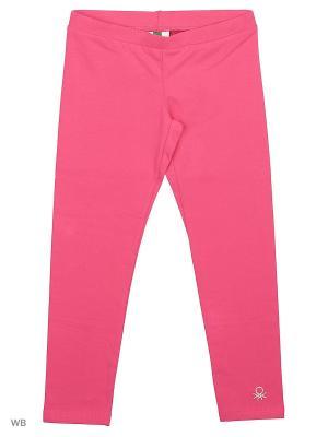 Леггинсы United Colors of Benetton. Цвет: розовый, фуксия