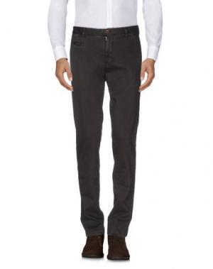 Повседневные брюки ALTEA. Цвет: темно-коричневый