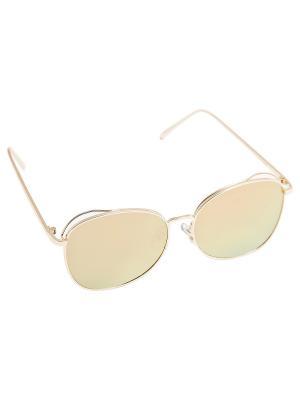 Солнцезащитные очки Aiyony Macie. Цвет: оранжевый, золотистый