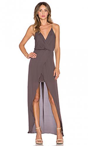 Вечернее платье jones Rory Beca. Цвет: серо-коричневый