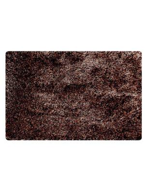 Коврик для ванной IDDIS. Цвет: коричневый