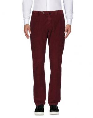 Повседневные брюки J.W. BRINE. Цвет: кирпично-красный