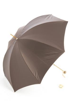 Зонт Pasotti. Цвет: коричневый