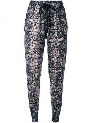 Спортивные брюки Markus Lupfer. Цвет: многоцветный