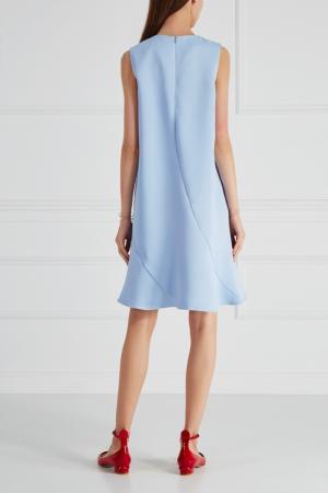 Платье-трапеция Cyrille Gassiline. Цвет: голубой