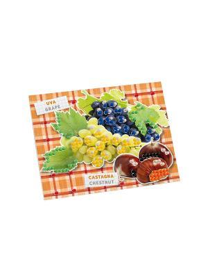 Пиксельная мозаика серии Сад Осень Quercetti. Цвет: красный, желтый, белый, черный, синий, зеленый