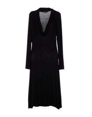 Короткое платье LA FEE MARABOUTEE. Цвет: черный