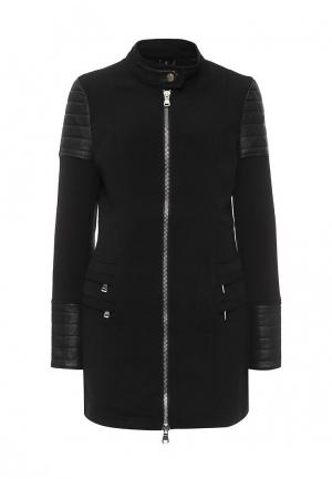 Пальто B.Style. Цвет: черный