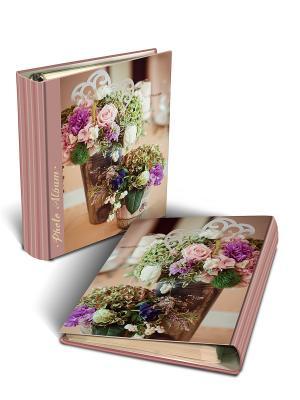 Фотоальбом с обложкой из картона ШЕББИ Magic Home. Цвет: розовый