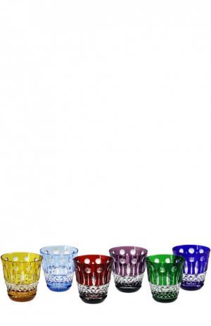 Набор из 6-ти рюмок для водки Xenia Tsar. Цвет: бесцветный