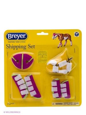 Набор для транспортировки лошади Breyer. Цвет: белый, розовый