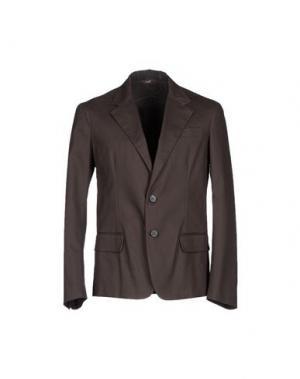 Пиджак 26.7 TWENTYSIXSEVEN. Цвет: темно-коричневый