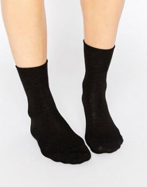 Falke Черные носки. Цвет: темно-синий