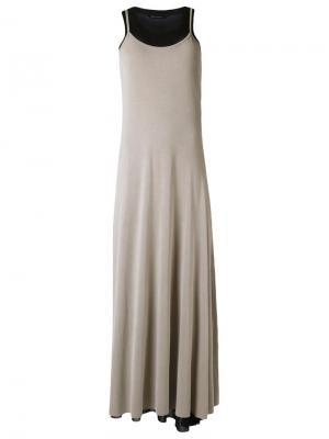 Длинное платье Uma | Raquel Davidowicz. Цвет: чёрный