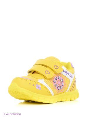 Ботинки Indigo kids. Цвет: желтый