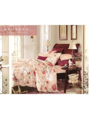 Комплект постельного белья, 1,5 спальный Sofi de Marko. Цвет: персиковый