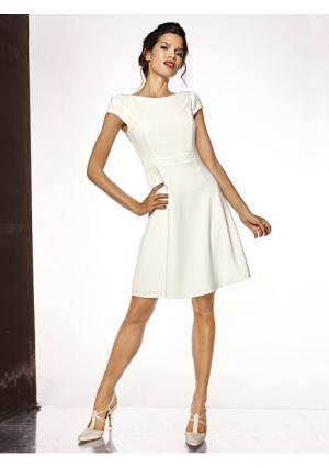 Коктейльное платье ASHLEY BROOKE by Heine. Цвет: кремовый, розовый, темно-синий