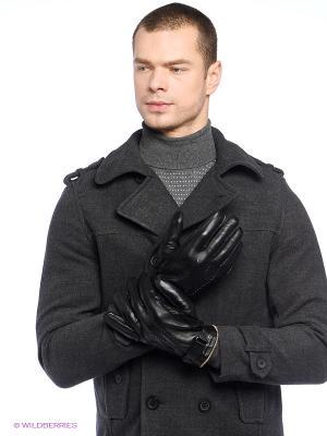 Перчатки Alfred Muller. Цвет: черный