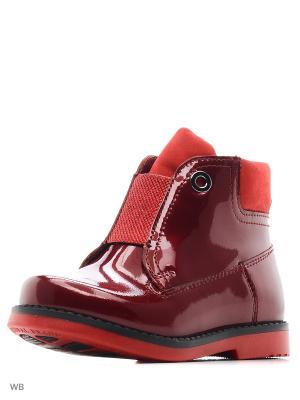 Ботинки San Marko. Цвет: бордовый