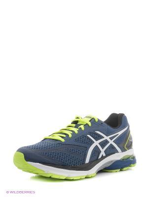 Спортивная обувь GEL-PULSE 8 ASICS. Цвет: синий, белый, желтый