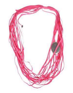 Ожерелье MARIA CALDERARA. Цвет: фуксия