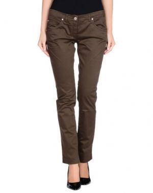 Повседневные брюки L'AIR DE RIEN. Цвет: зеленый-милитари