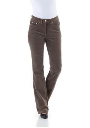 Вельветовые брюки CHEER. Цвет: бордовый, серо-коричневый, синий