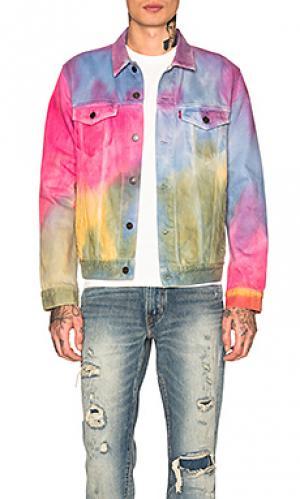 Джинсовая куртка pride LEVIS Premium LEVI'S. Цвет: фиолетовый