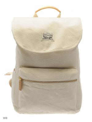 Рюкзак Levi's®. Цвет: белый
