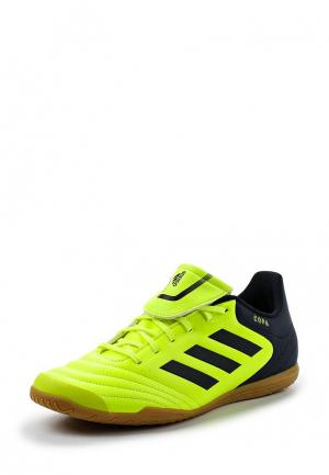 Бутсы зальные adidas Performance. Цвет: желтый