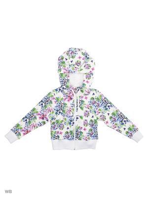 Куртка DUWALI. Цвет: белый