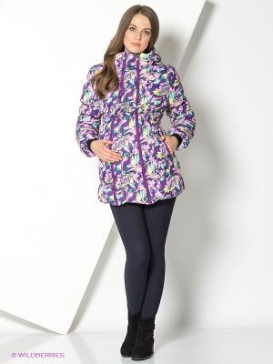 Куртка I love mum. Цвет: бирюзовый, фиолетовый, розовый