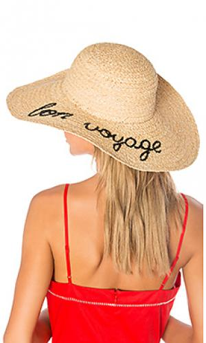 Шляпа bon voyage Hat Attack. Цвет: беж