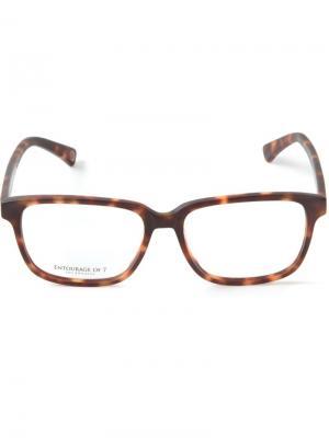 Оптические очки Entourage Of 7. Цвет: коричневый