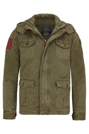 Куртка GOODYEAR. Цвет: зеленый