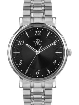 Часы РФС. Цвет: серебристый, черный