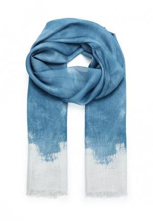 Палантин Furla. Цвет: голубой