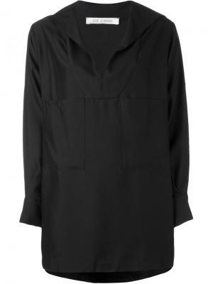 Рубашка Remora Zoe Jordan. Цвет: чёрный