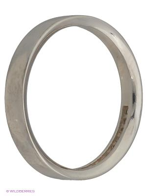 Кольцо Инталия. Цвет: серебристый