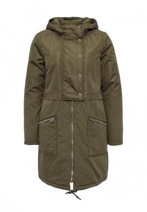 Куртка утепленная Vila. Цвет: хаки