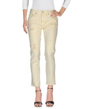 Джинсовые брюки POLO JEANS COMPANY. Цвет: светло-желтый