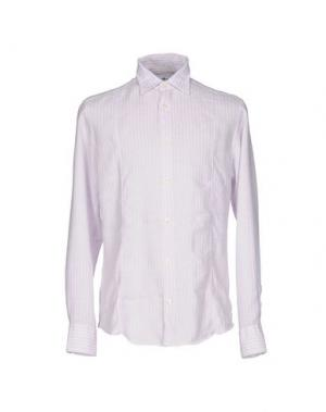 Pубашка DANOLIS. Цвет: сиреневый