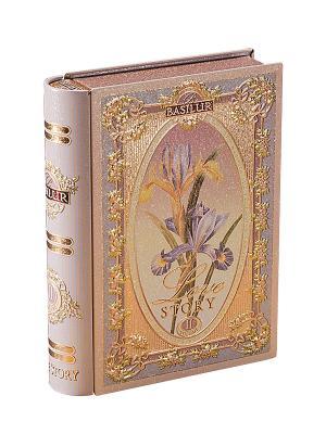Чай Basilur Чайная книга. История Любви. Том 2 Tea Book. Love Story II. Цвет: светло-бежевый, золотистый