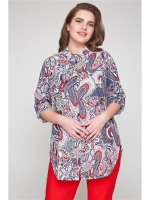 Блузка Bestiadonna. Цвет: красный