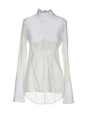 Блузка BAD SPIRIT. Цвет: белый