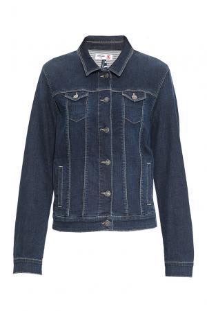 Джинсовая куртка 170661 Saint James. Цвет: синий