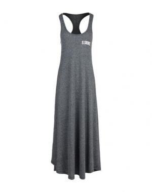 Длинное платье SHOESHINE. Цвет: грифельно-синий