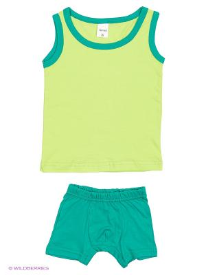 Комплект детский El Fa Mei. Цвет: зеленый