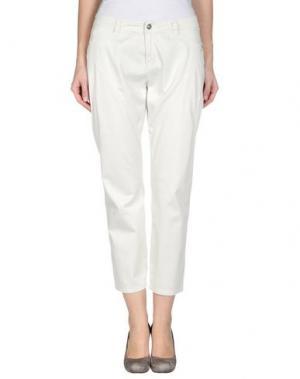 Повседневные брюки 9.2 BY CARLO CHIONNA. Цвет: светло-серый