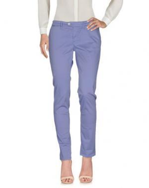 Повседневные брюки OAKS. Цвет: светло-фиолетовый